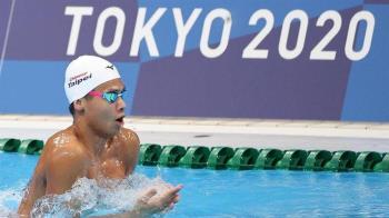 王星皓男子200M個人混合式 分組第8無緣晉級