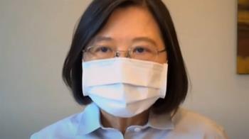 完成疫苗意願登記 蔡英文:我選擇接種國產疫苗