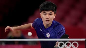 快訊/再拚銅牌!19歲林昀儒3比4 惜敗「世界球王」