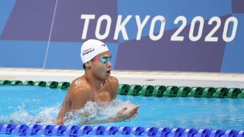 無緣決賽!泳界新星王星皓 200公尺混和式失常止步
