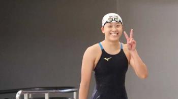 台灣游泳唯一女將!黃渼茜出戰50公尺自由式 小組第6未晉級