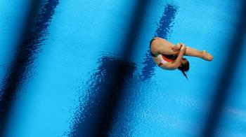 超糗!墨西哥跳水女將「直插入水」拿0分 教練氣到走人