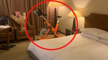 盧彥勳回台隔離嗑飯糰 寬敞房間竟有「飛輪」