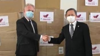 又有疫苗來!立陶宛贈2萬劑AZ疫苗 10:35抵桃機