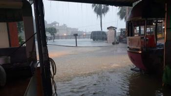 大雷雨國家警報大響!11縣市防雨彈 5縣市1級淹水警戒