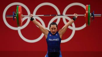 舉重拿下國史首金 菲律賓選手獎品總價超過2500萬元