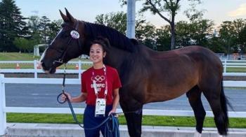 「國巨千金」陳少曼今出戰奧運 拚台灣首面馬術獎牌