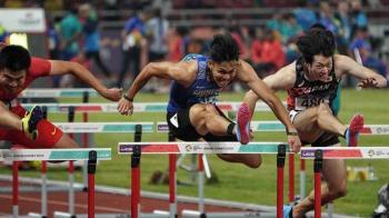 台灣「欄神」陳奎儒飆13秒53 成功衝進準決賽