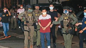 平凡歐吉桑被突襲攻堅 刑事局拘提「神祕黑幫教父 」身分曝光