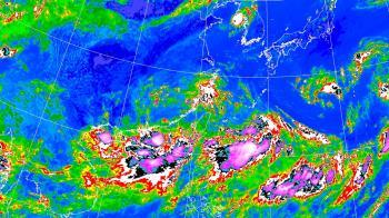 會放颱風假嗎?盧碧最快14:30海警 全台暴風圈侵襲機率出爐