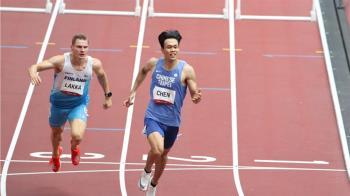 陳奎儒無緣闖進決賽哭了 跨欄分組第6自責:奧運旅程就這樣結束了