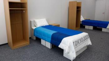 東奧運動員選手村鬧事! 「砸爛紙板床、打破牆壁」1原因免罰