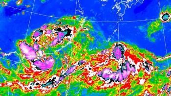 盧碧颱風逼近!全台降雨熱區曝 明午後從這登陸