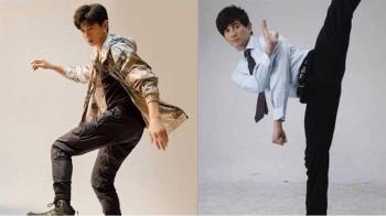 吳奇隆其實是柔道、跆拳國手 50歲「空中劈一字馬」PK奧運冠軍