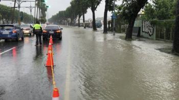 颱風盧碧外圍環流大雨  高雄至少6處積淹水