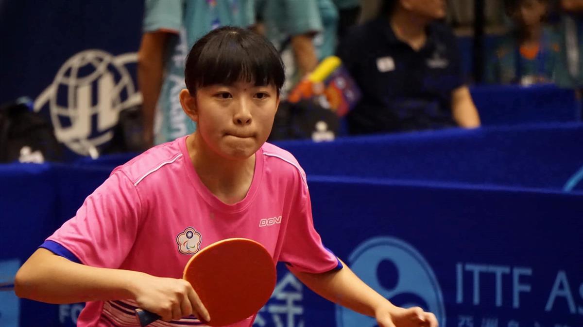 帕運/林姿妤「肌肉萎縮」曾拒領身障手冊 因1場比賽拍進世界第9