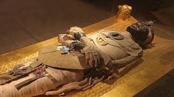 英修復4000年歷史棺木 專家:陪葬物顯示死者地位尊貴