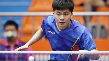 林昀儒全運會桌球男雙摘金 親吐賽後心情:想放長假