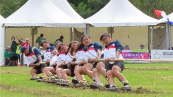 台灣女將拔河世錦賽奪第4名 獲世運會門票