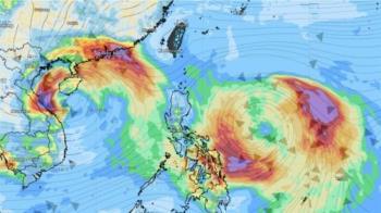 雙颱共舞 3天連假毀了?氣象專家回應