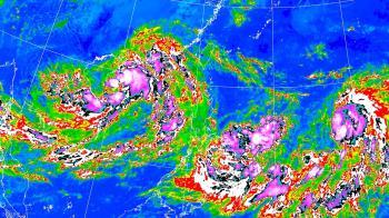 圓規今晚恐生成!暴風圈侵襲機率出爐 3地區可能放颱風假