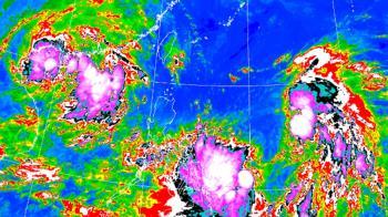 不排除侵台!圓規颱風下周一最靠近 2地區恐豪雨狂炸