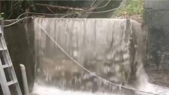 颱風影響台東釀災!民宅淹水、大榕樹傾倒