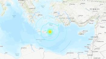 希臘克里特島6.3強震 深度僅10公里