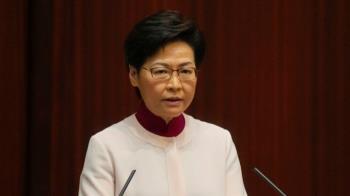 林鄭月娥跌傷留院觀察 政務司長暫代職務