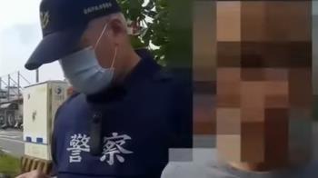 男毒駕自撞分隔島變電箱 車內查獲毒品咖啡包