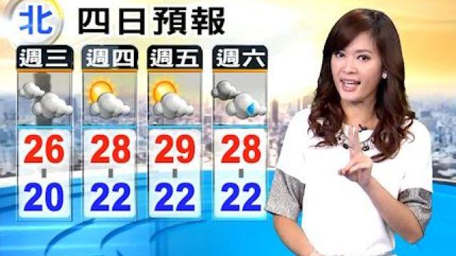 今北台仍偏涼 中南部早晚溫差大