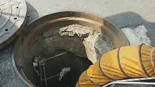 高雄工安意外!地下管線水流沖走工人