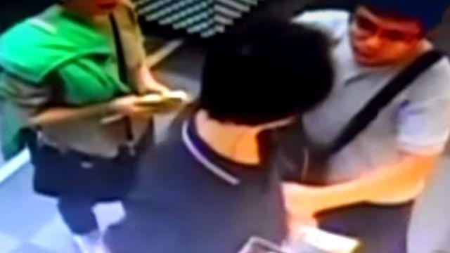 休假員警遇竊賊 賣場「制伏」現行犯