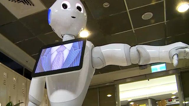 全台唯一情感機器人Pepper 造訪東森