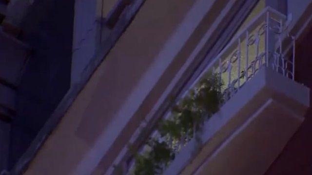 下榻第一天...男子從飯店外陽台墜落!