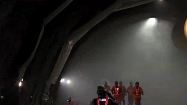 蘇花改新里程 觀音隧道北上線貫通