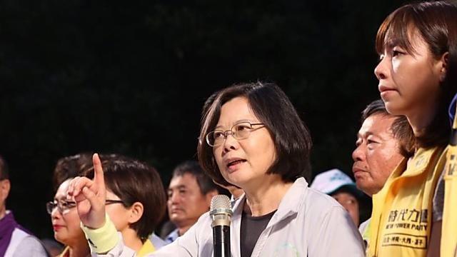 「英仁配」出爐 蔡英文宣布副手陳建仁
