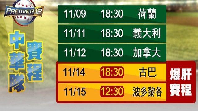中華隊無緣八強賽 球迷痛批「爆肝賽程」