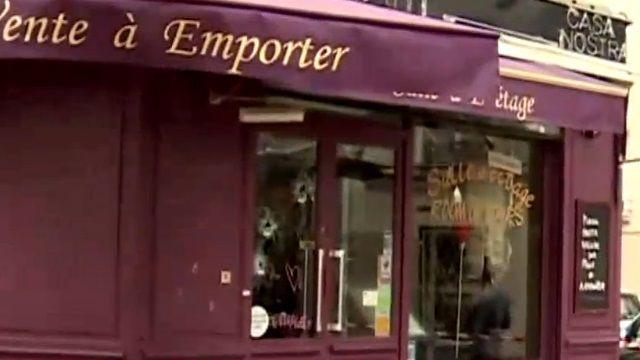 重回巴黎恐攻現場 彈痕累累怵目驚心