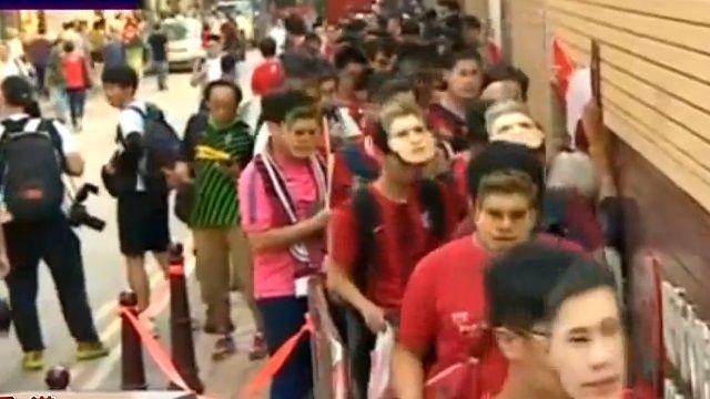 「噓」大陸國歌!球迷怒:香港不是中國