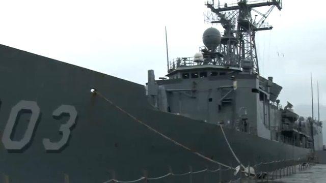 成功級鄭和艦實際操演 體驗軍旅生活