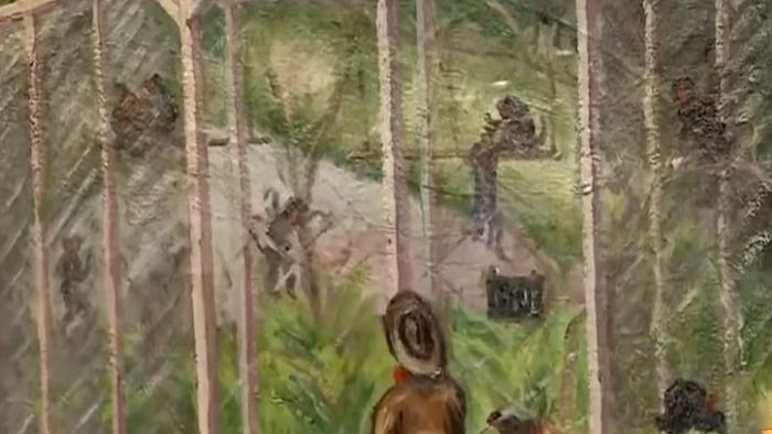 陳澄波畫中畫 嘉義公園藏「裸女圖」?