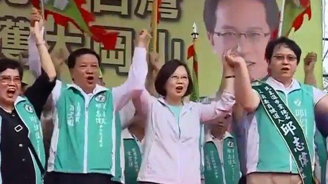 選戰黃金周!「蔡仁配」南北分進合擊