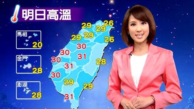 【2015/11/21】微弱東北風降雨緩 東半部迎風面短暫雨