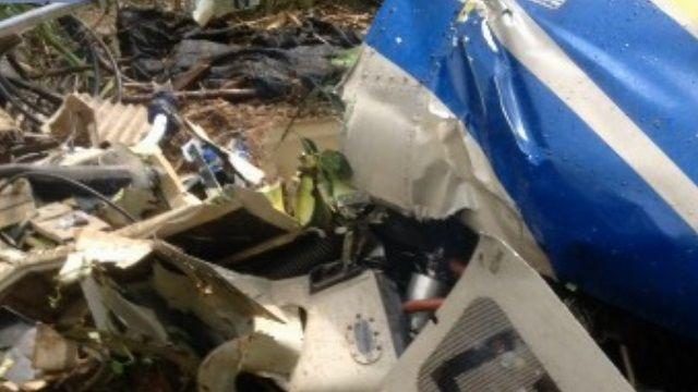 台電清電塔直升機墜毀!機上兩人不治