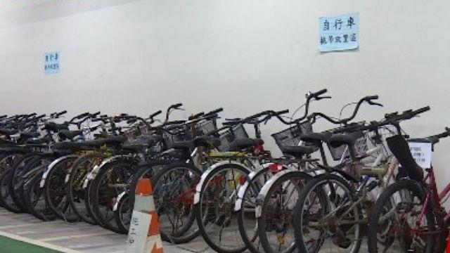 自行車違停拖吊!北市去年開鍘逾5千輛