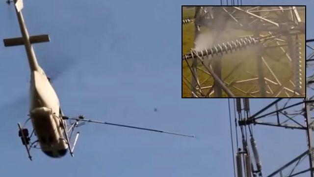 清洗高壓電塔墜機 凌天航空1年兩起意外