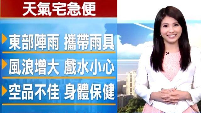【2015/11/22】東北風微弱 迎風面北東零星降雨