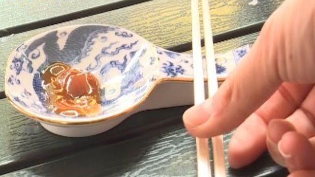600年前明朝青花瓷 變餐桌醬碟.筷架?
