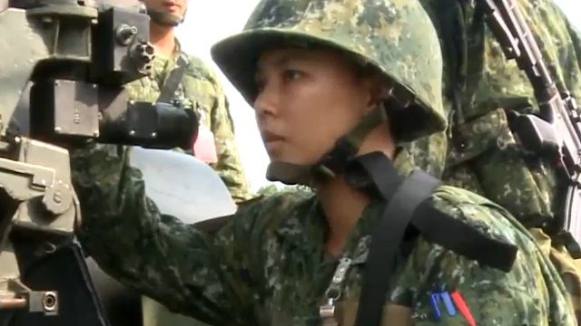 巾幗不讓鬚眉! 女兵從軍表現亮眼